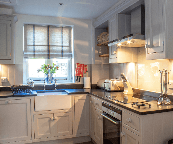 Dumfries House kitchen with white goods